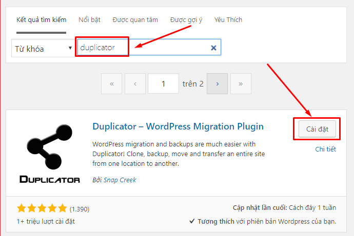 chuyen-hosting-wordpress-de-dang-voi-plugin-duplicator